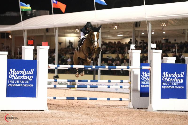 Thumbnail for Michaels-Beerbaum Wins; Lamaze 5th in Marshall & Sterling Grand Prix