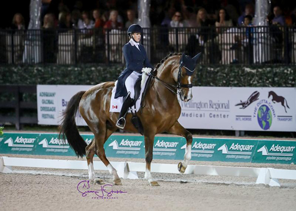 Thumbnail for Brittany Fraser and All In 2nd in Freestyle at AGDF