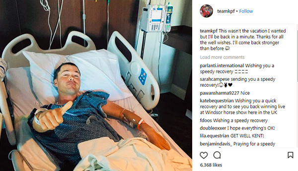 Thumbnail for Top Jumper Kent Farrington Injured at WEF