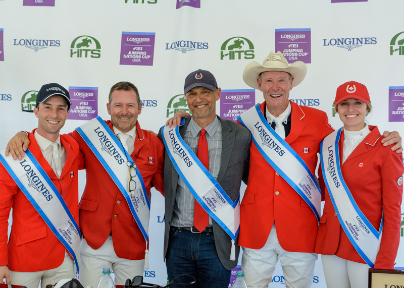 Thumbnail for Canada Claims Victory in $450,000 Longines Nations' Cup of Ocala