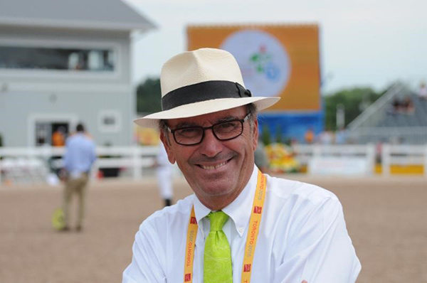 Thumbnail for Michel Vaillancourt is New Hampton Classic Horse Show Course Designer