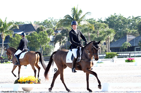 Thumbnail for Big Names in Eventing Honed Dressage and Jumping Skills at WEF