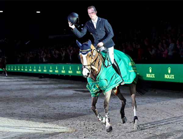 Thumbnail for Niels Bruynseels Takes First Leg of Rolex Grand Slam of Show Jumping