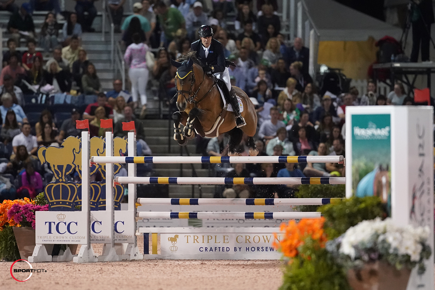Thumbnail for Ian Millar and Dixson Second in $132,000 Horseware Ireland Grand Prix CSI 3*