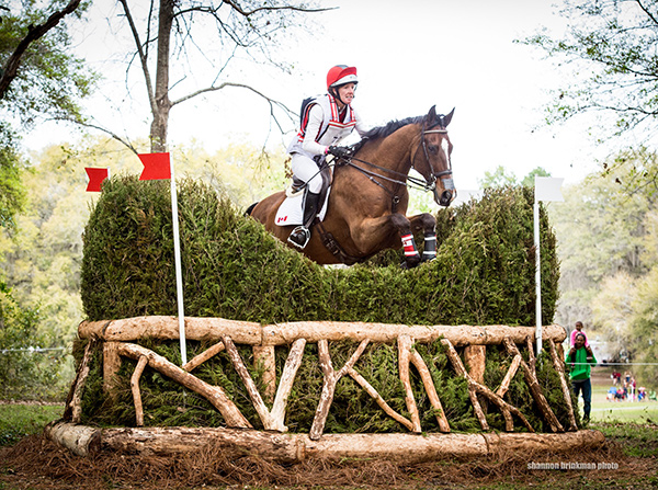 Thumbnail for Canadian Eventers Spring Into Action at Red Hills
