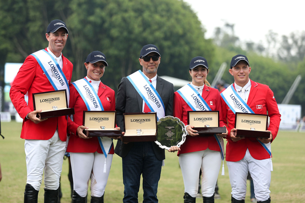 Thumbnail for Canadian Show Jumping Team Victorious in Mexican Nations Cup