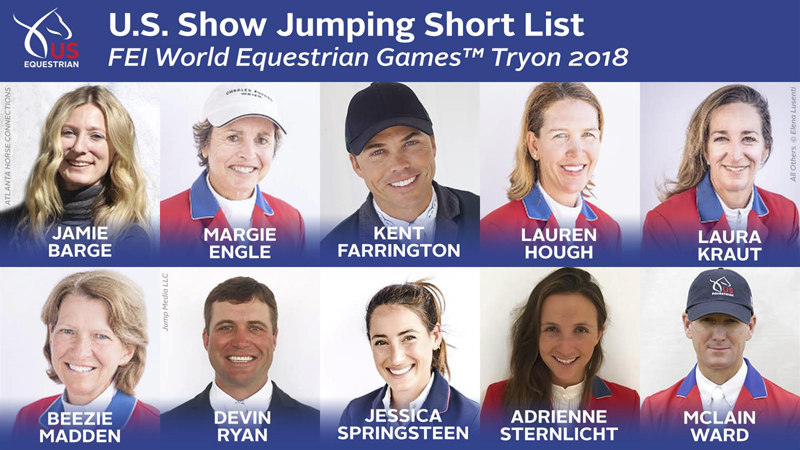Thumbnail for US Equestrian Names 10 Athletes to Short List for FEI WEG Tryon 2018