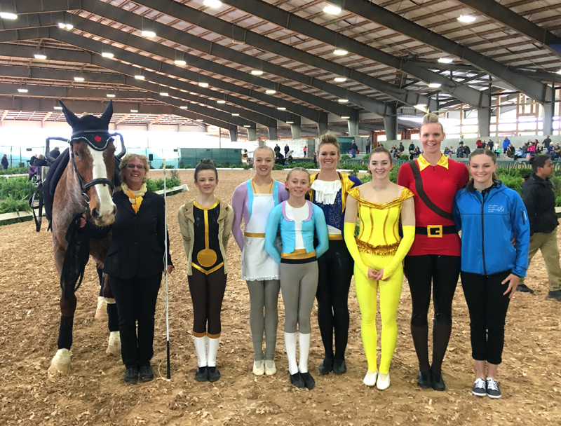 Thumbnail for Canadian Vaulting Squad Qualifies for Selection to 2018 WEG