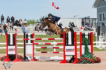 Thumbnail for Coyle Wins, Underhill 2nd in Grand Prix at CSI2* Caledon National