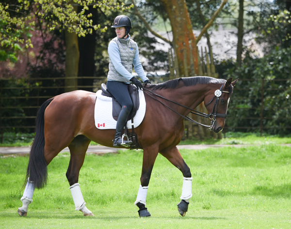 Thumbnail for Personal Best Dressage for Selena and Woody at Badminton