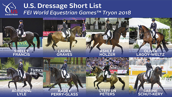 Thumbnail for US Equestrian Names Dressage Short List for the FEI WEG Tryon 2018
