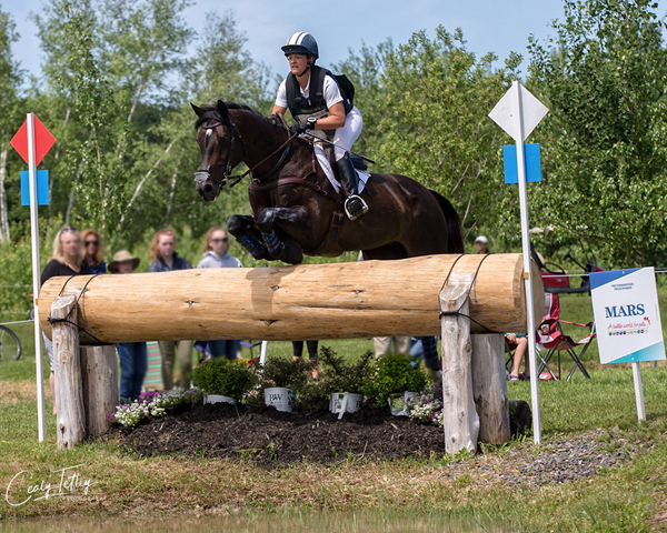 Thumbnail for Lynn Symansky Moves into CCI3* Lead at Bromont Three-Day Event