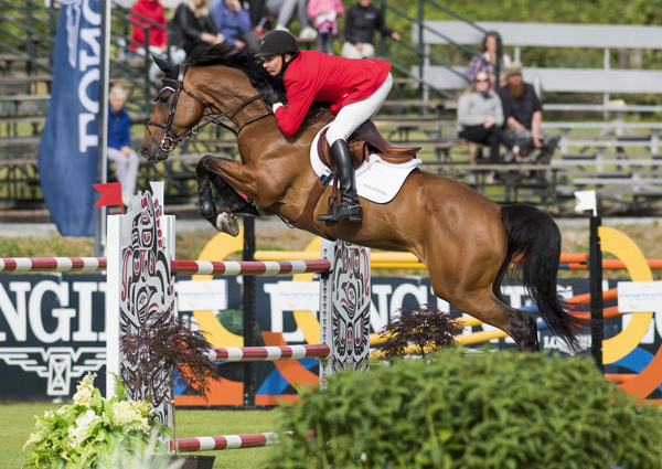 Thumbnail for Mario Deslauriers and Bardolina second in Longines Grand Prix at TBird