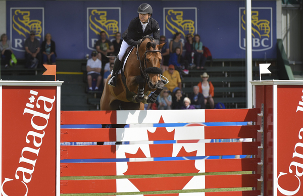 Thumbnail for Saturday's Show Jumping Highlights from the Spruce Meadows National