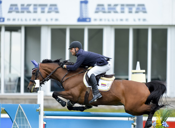 Thumbnail for Big Wins for Perez and Lamaze on Saturday at the Spruce Meadows Continental