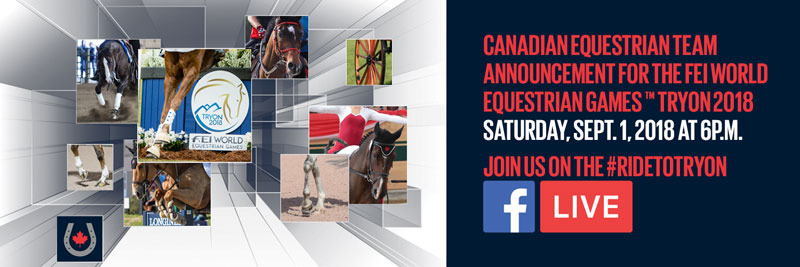 Thumbnail for Canadian Equestrian Team to be Named Sept 1st
