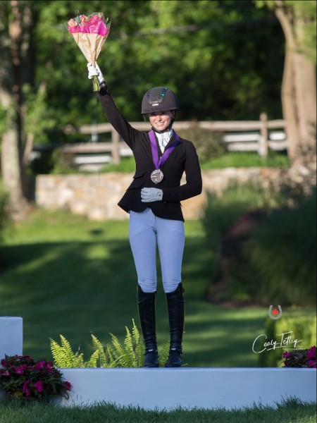 Thumbnail for Canada's Dressage Medal Count Continues to Increase at NAYC