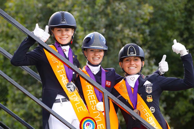 Thumbnail for Fry cooks up a storm at FEI European U25 Dressage Championships