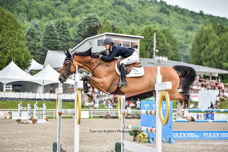 Thumbnail for Lucy Deslauriers Opens Week 2 of International Bromont with a Win