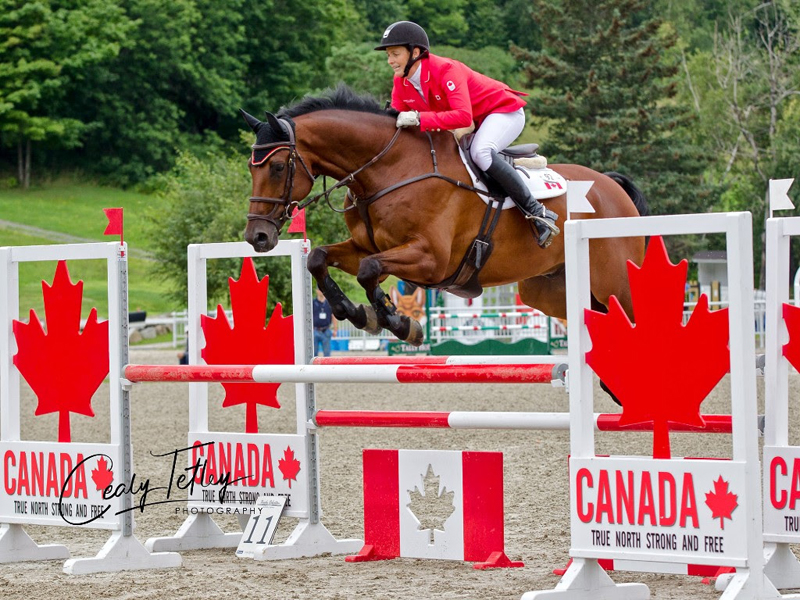 Thumbnail for Canadians Surge to the Lead in 1* and 2* at Bromont