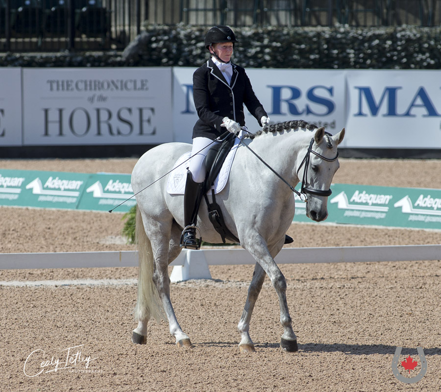 Thumbnail for Hartvikson leads Canadian Para-Dressage Team to 8th-place finish at WEG