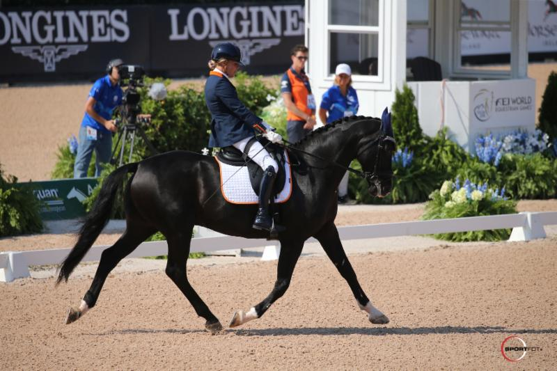 Thumbnail for Glorious Gold for Dutch in Adequan Para-Dressage Team Competition