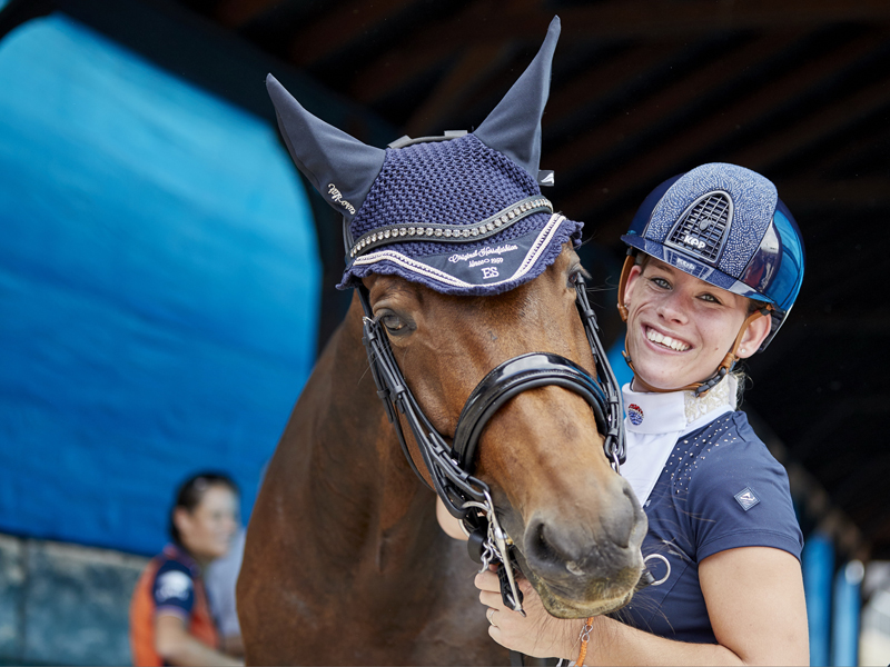 Thumbnail for Netherlands top the medal table in Para-Dressage at the FEI WEG