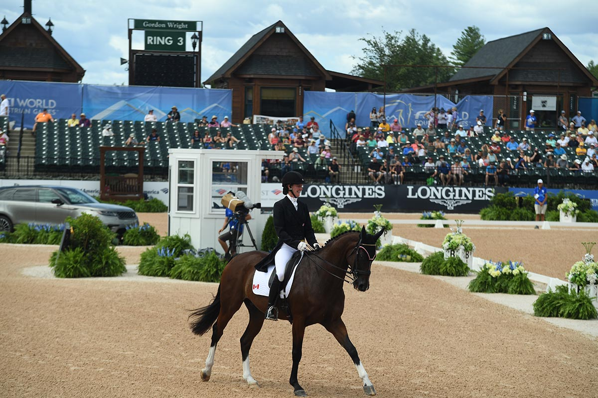 Thumbnail for Eventing Dressage Wraps Up at WEG Tryon