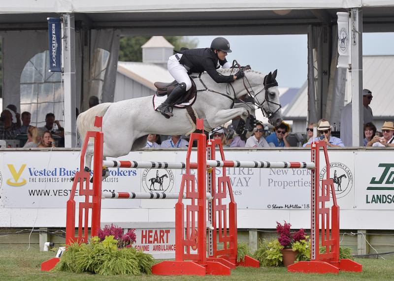 Thumbnail for Sweetnam wins, Deslauriers third in Longines Cup at Hampton Classic