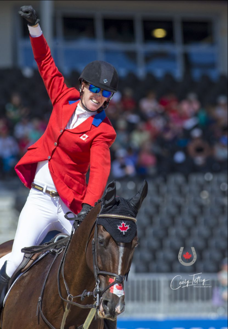 Thumbnail for 11th-Place Finish for Canadian Eventing Team at WEG