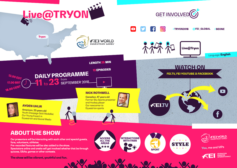 Thumbnail for Live@Tryon brings the FEI World Equestrian Games to you!