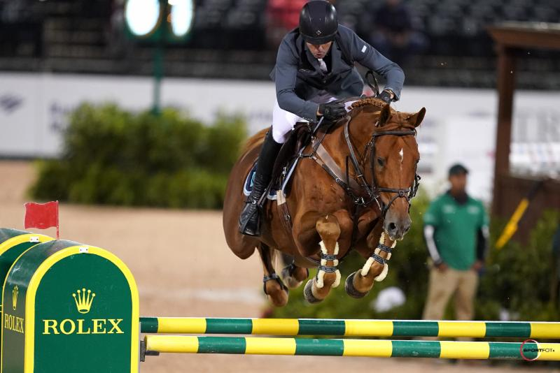Thumbnail for Conor Swail takes the $384,000 Rolex Grand Prix CSI5* at Tryon