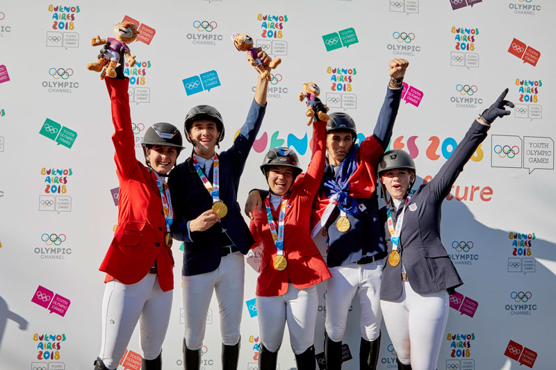 Thumbnail for Team North America Takes Gold in Youth Olympic Games