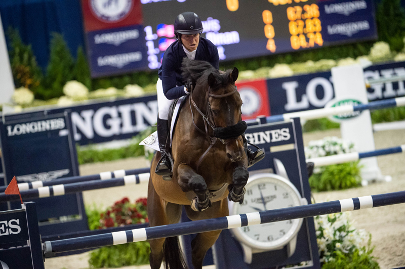 Thumbnail for Madden rides Breitling to Longines Win in Washington