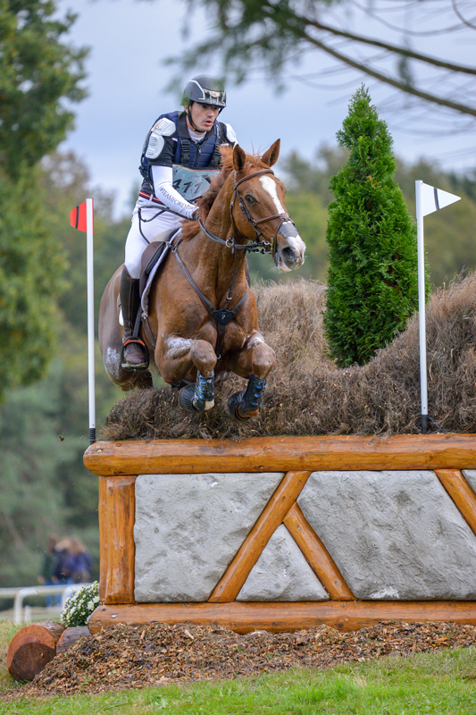 Thumbnail for Thibault Fournier leads after Cross-Country at Pau CCI4*