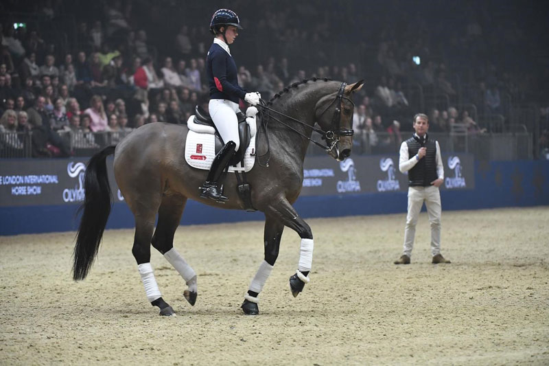 Thumbnail for Charlotte Dujardin and 'Mrs Valegro' to Unveil New Freestyle
