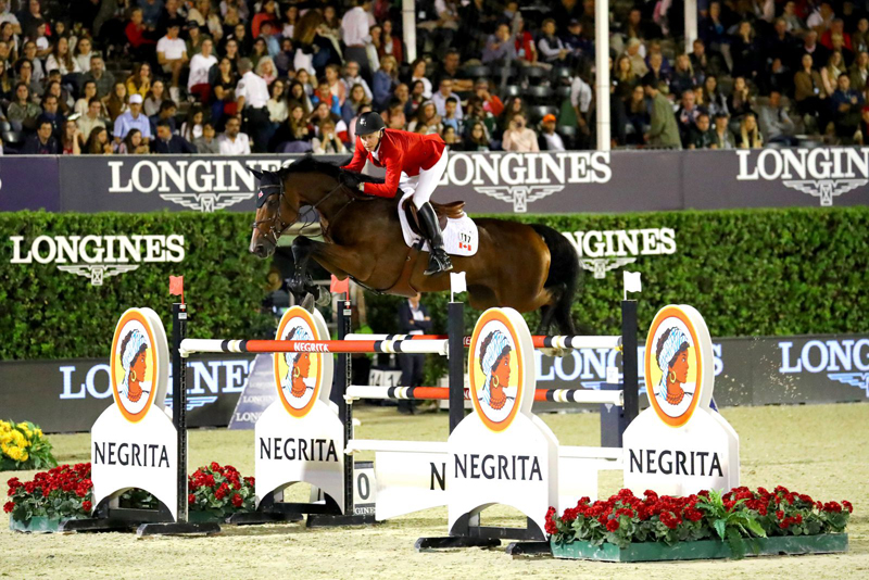 Thumbnail for Canada Finishes Fifth in Longines FEI Challenge Cup