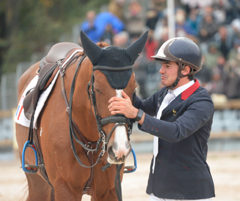 Thumbnail for Young French Star Thibault Fournier Wins Pau CCI4*