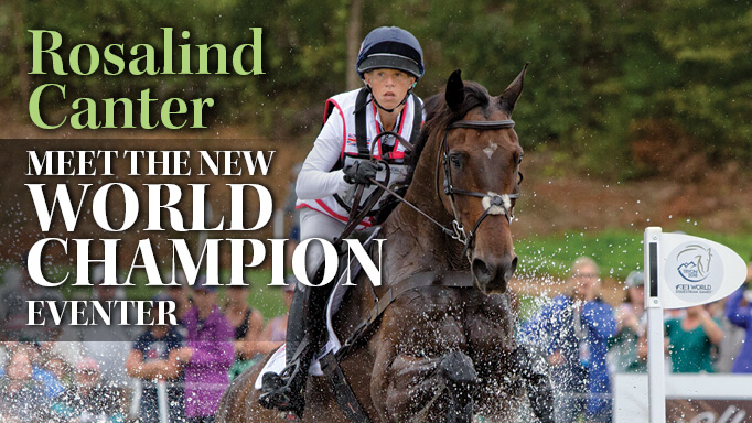 Thumbnail for New Eventing World Champion: Rosalind Canter