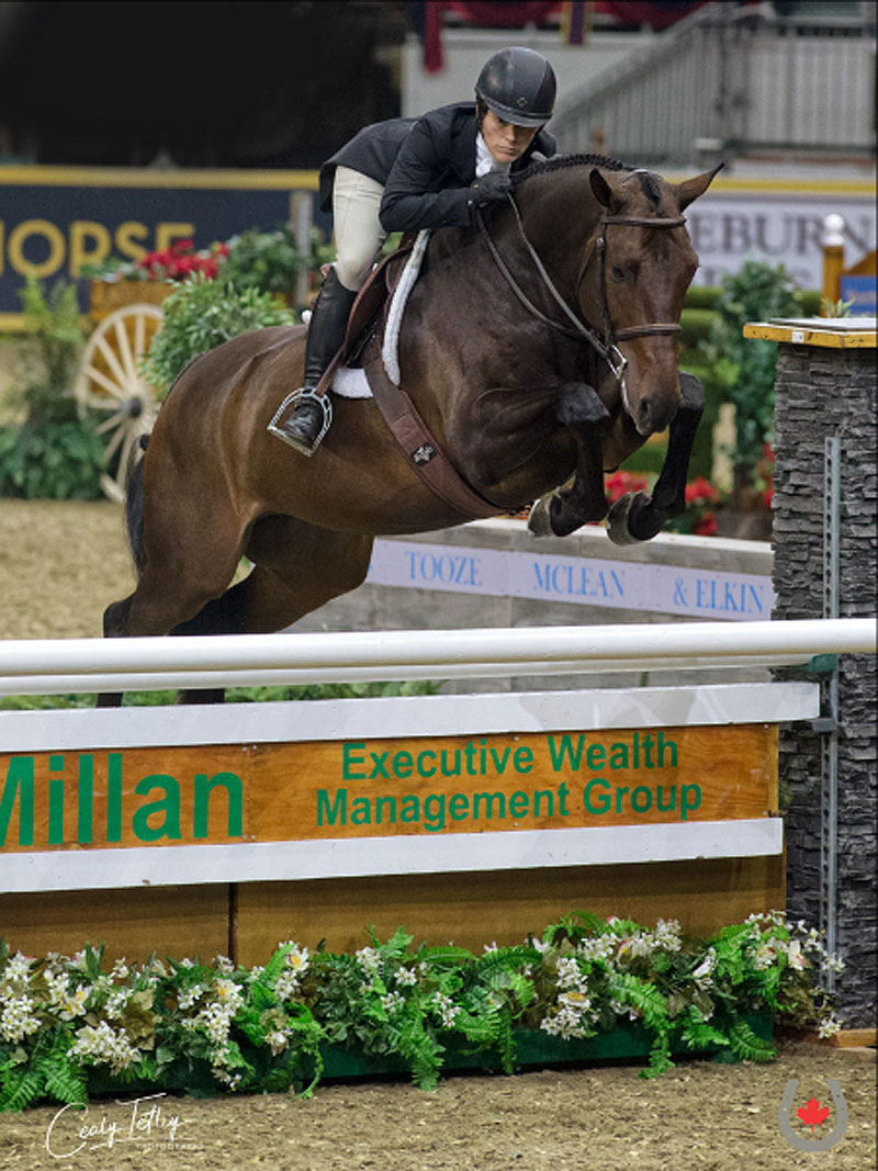 Thumbnail for Isabelle Lapierre Earns Canadian Hunter Derby Series Title