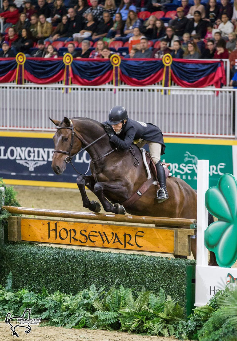 Thumbnail for Isabelle Lapierre Claims $15,000 Braeburn Farms Hunter Derby Victory