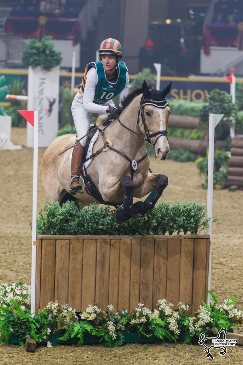 Thumbnail for Lauren Kieffer Takes First Night of Indoor Eventing at The Royal