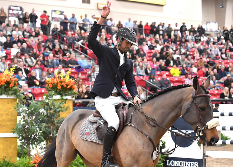 Thumbnail for Nassar and Lordan win Longines FEI Jumping World Cup Las Vegas
