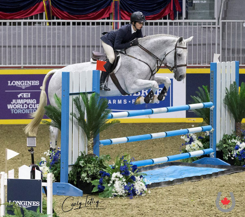 Thumbnail for Canada's Sam Walker third in USEF Hunter Seat Medal Final