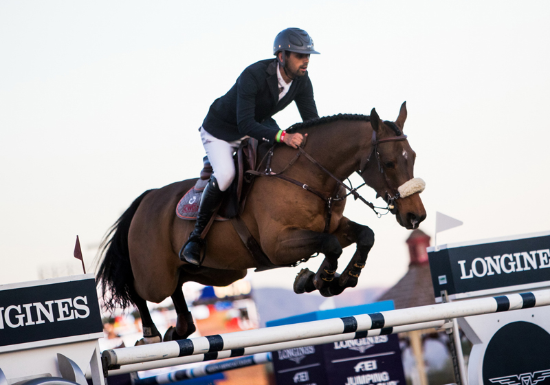Thumbnail for Nassar and Lordan shine in repeat Longines victory in Thermal