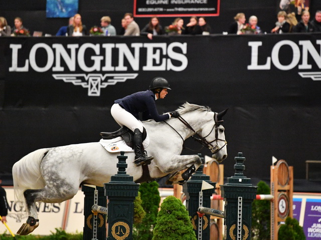 Thumbnail for Beezie Madden Continues Winning Streak in Lexington World Cup