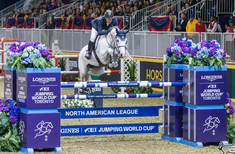 Thumbnail for Ward Wins $205,000 Longines FEI Jumping World Cup at The Royal
