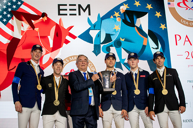 Thumbnail for Team Europe Wins Their Third Riders Masters Cup in Paris