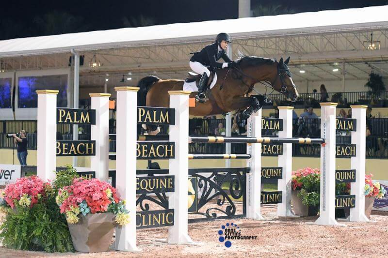 Thumbnail for Margie Engle and Royce Take $205,000 Holiday & Horses Grand Prix