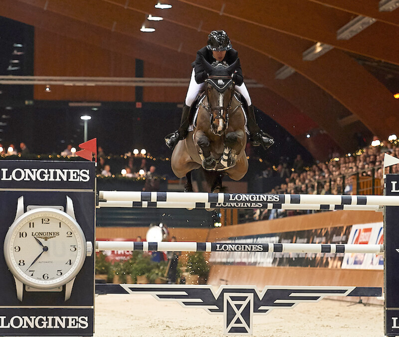 Thumbnail for Gudrun Patteet victorious in Longines Grand Prix in A Coruña